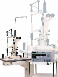 レーザー光凝固装置の写真